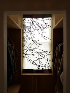 lovely textile window covering