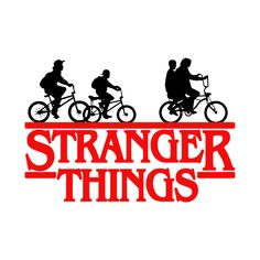 Stranger things Bicycle gang Sticker Vinyl decal Made of high quality vinyl that will adhere to a lap top, car window, tumbler, coffee cup, etc. Stranger Things Tumblr, Stranger Things Logo, Stranger Things Aesthetic, Stranger Things Season, Stranger Things Netflix, Vinyl Decals, Macbook Decal Stickers, Nerd, Cricut