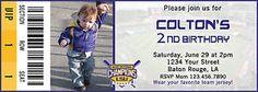 LSU Baseball Ticket Birthday Invitation Digital File 5x7 Any Occasion MLB | eBay