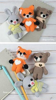 Mesmerizing Crochet an Amigurumi Rabbit Ideas. Lovely Crochet an Amigurumi Rabbit Ideas. Crochet Animal Amigurumi, Crochet Amigurumi Free Patterns, Amigurumi Doll, Crochet Animals, Crochet Dolls, Crochet Hood, Cute Crochet, Crochet Crafts, Crochet Projects