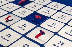 Feeling Forgetful? ReMory Card Game is a Design Concept You'll Love Card Games, Game Cards, Packaging Design Inspiration, Design Reference, Design Awards, Game Design, Innovation, Student, Concept