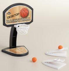 A basketball hoop Stuart Little could dunk into.