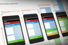 BBC Mobile Interaction Patterns