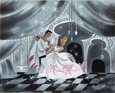 "Mary Blair concept art for Walt Disney's ""Cinderella"" Mary Blair, Disney Love, Disney Magic, Walt Disney, Disney Hotels, Disney Nerd, Disney Stuff, Ghibli, Gravity Falls"