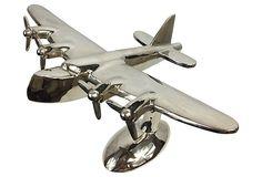 Art Deco Chrome  Plane on OneKingsLane.com