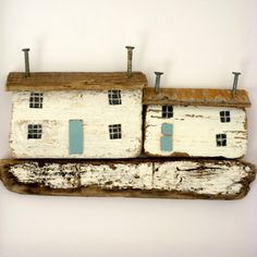 driftwood houses {kirsty elson}