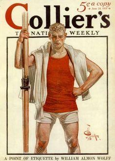 The Oarsmen of J.C. Leyendecker: Homeric or Homoerotic? – Hear The Boat Sing