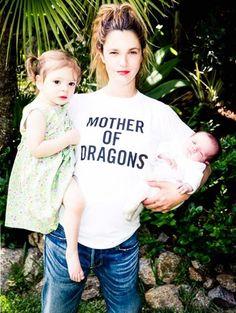 Drew Barrymore - De eerste foto van Drews dochtertje Frankie