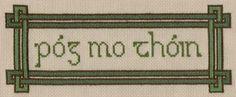 """Kiss My Ass"" in Gaelic!"