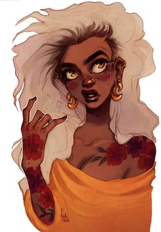 portrait of random character, inspired by beautiful women portraits by Jacquelin de Leon &...