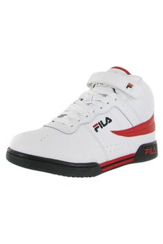 F13 Basketball Shoes in White, Black and Red Fila known for their superior sport lifestyle gear brings you the F-13V, men