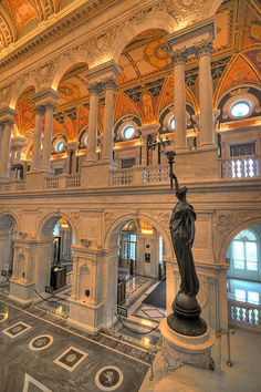 US Library of Congress, Washington DC