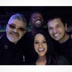"""Dennys Ilic - """"Silly selfie after a silly night of Megha-Multi-Ball Ping Pong with Roger R. Cross [Continuum 