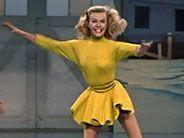 Vera Ellen beautiful dancer, jazz tap number in White Christmas