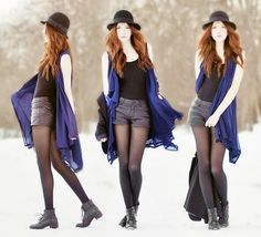 add a caption goth,  cute,  long,  #hijab  #look,  #boots -  #jewelry