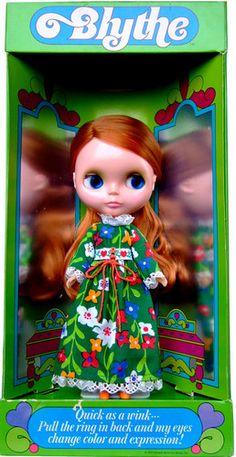 Blythe Kenner Red Hair 1972 Vintage Doll