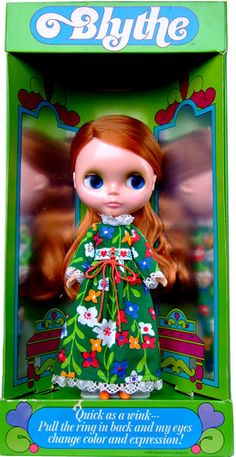 ♥ RARE ♥ Blythe Kenner Red Hair 1972 Vintage Doll w Box MINT ♥    Wish this didn't cost $4000 :(