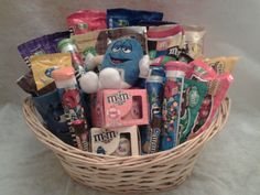 M & M Gift Basket  --  Currently Available for purchase on eCRATER.com