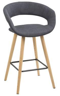 Gracy barkruk donkergrijs - Robin Design