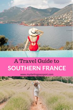 Southern France is a beautiful part of the country. There are two distinct areas, Provence and The French Riviera. This travel guide to Southern France covers all the best things to do, see and eat in Southern France! Save this pin to help you plan a trip to Southern France!