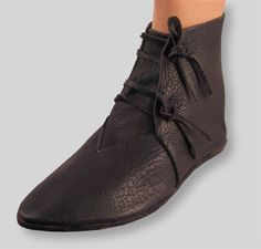Women Vintage Booties Casual Plus Size Shoes Medieval Boots, Medieval Clothing, Viking Costume, Medieval Costume, Viking Shoes, Shoe Pattern, Types Of Shoes, Leather Shoes, Renaissance