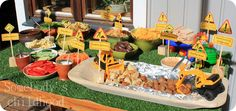 Somebody's childhood: Construction party for a 2-year-old