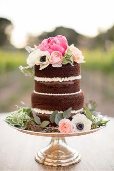10 pasteles de boda que no son blancos - Los detalles - NUPCIAS Magazine