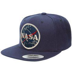 Flexfit Original Classic Snapback Cap with NASA Meatball Logo Patch 784edff31ed