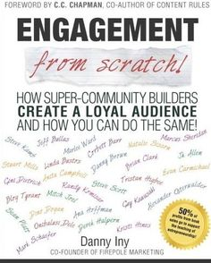 List of the Best Marketing Books Ever - Engagement from scratch by Danny Iny