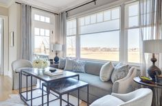 A Gray Day - Design Chic #HomeDecorators #Homes #LivingRoomIdeas
