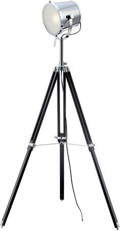 54 inchh Trey 1-Light Floor Tripod L& Chrome  sc 1 st  Pinterest & TRIBECCA HOME Modern Silver Chrome Arch Lamp   Overstock.com ... azcodes.com