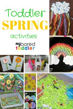 I love Spring activities for toddlers. Spring is such a fun and exciting time, especially for inquisitive little minds, and there are so many toddler activities to choose from. We have joined forces with Toddler Classroom, Toddler Preschool, Toddler Crafts, Crafts For Kids, Classroom Ideas, Classroom Projects, School Projects, Easter Crafts, Art Projects