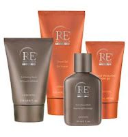 SETS  This is a good way to start, then replenish whatever is used up first.  Includes five products:  NutriMenC RE9 REveal Exfoliating Wash; REsurface Shave Gel; REstoring Toner; REality Moisturizer with Sunscreen SPF 8 plus an Arbonne Intelligence™ Thermal Fusion Hair & Scalp Revitalizer a $23.50 value! for $118 #650  Father's Day Gift Set (available for purchase through the end of June)  This has no toner, but it has a robe and Detox Body Gelee. Get all 4 products $118 value for $106 #…