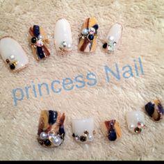 #Nailbook #princessnail_k #ネイルブック