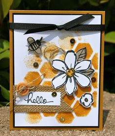 Krystal's Cards: Stampin' Up! Delightful Garden in Bloom #stampinup #krystals_cards #gardeninbloom #onlinecardclass #handstamped #papercrafts #cardmaking #sendacard #stampsomething