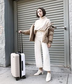 """1,471 Likes, 37 Comments - lauren  (@laurencaruso_) on Instagram: """"inadvertently matched my @away suitcase and it was only a little bit awkward."""""""
