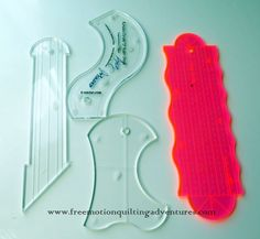 Amy's Free Motion Quilting Adventures: Ruler Work on a Domestic Sewing Machine: Rulers