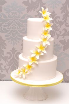 Satin Ice fondant icing is an allergy free, cake decorating tool used to make custom cakes, cookies & cupcakes. Daffodil Cake, Daffodil Wedding, Lily Wedding, Sunset Wedding, Satin Ice Fondant, Fondant Icing, Wedding Cakes With Cupcakes, White Wedding Cakes, Amazing Wedding Cakes