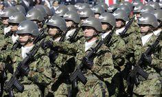 Soldados da Força Terrestre de Auto-Defesa do Japão