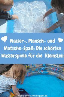 Wasserspiele, Planschen und Matschen – Unsere liebsten Kleinkind-Sommer-Beschäftigungen für Garten, Balkon und Terrasse