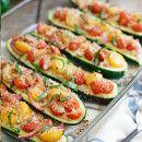 Barquitas rellenas con humus y tomate | #Receta de cocina | #Vegana - Vegetariana ecoagricultor.com