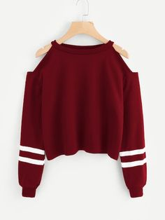 Women Off Shoulder Long Sleeve Sweatshirt Pullover Casual Comfort Solid Color Ropa Mujer Tops… - teen fashion Teen Fashion Outfits, Mode Outfits, Outfits For Teens, Girl Outfits, Shirts For Teens, Hoodies For Girls, Cute Teen Shirts, Womens Fashion, Girls Fashion Clothes