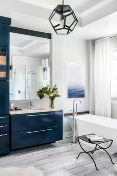 one / subjects of style - Terracotta Design Build Co. Modern Contemporary Bathrooms, Contemporary Cottage, Modern Bathroom Design, Contemporary Bedroom, Contemporary Design, Contemporary Building, Contemporary Apartment, Contemporary Wallpaper, Contemporary Office