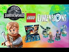 La Scienza di Giacomo✦Lego Dimensions WiiU❖Jurassic World team pack❖Unbo...