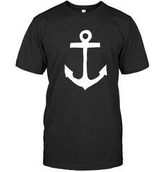Nautical Anchor Shirt nautical gift for women men kids Gift For Men Women Gifts For Kids, Gifts For Women, Anchor Shirts, Nautical Gifts, Nautical Anchor, Cool T Shirts, Hoodies, Sleeves, Mens Tops