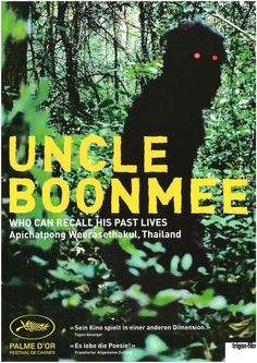 UNCLE BOONMEE - 2009 - FILMPOSTER A4