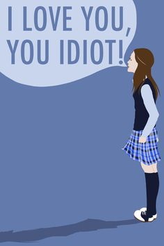 Gilmore Girls: I Love You, You Idiot Art Print by shecanliftahorse ...