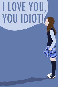 Gilmore Girls: I Love You, You Idiot Art Print by shecanliftahorse ...
