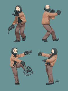 Nurzhan Bekkaliev on Behance Character Sketches, Character Concept, Character Art, Concept Art, Realistic Drawings, Cool Drawings, List Of Artists, Artist List, Cyberpunk Aesthetic