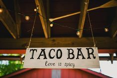 Hemlock Farms Wedding Wedding Savvy Inc. Photos: Ariel Renae Taco Bar